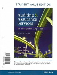 Auditing and Assurance Services, Student Value Edition 15th edition 9780133125689 0133125688