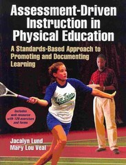 Assessment-Driven Instruction in Physical Education with Web Resource 1st Edition 9781450419918 1450419917