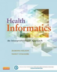Health Informatics 1st Edition 9780323100953 0323100953