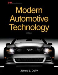 Modern Automotive Technology 8th Edition 9781619603707 1619603705