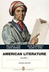 American Literature, Volume I (Penguin Academics Series) 2nd Edition 9780321838643 0321838645