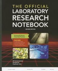 The Official Laboratory Research Notebook (50 Duplicate Sets) 2nd Edition 9781284029604 1284029603