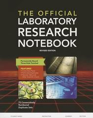 The Official Laboratory Research Notebook (75 Duplicate Sets) 2nd Edition 9781284029628 128402962X