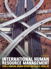 International Human Resource Management (with CourseMate and eBook Access Card) 6th Edition 9781408075746 1408075741