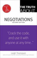 The Truth About Negotiations 2nd Edition 9780133353440 0133353443