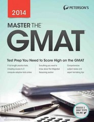 Master the GMAT 2014 20th Edition 9780768937596 0768937590