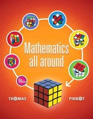 Mathematics All Around Plus NEW MyMathLab with Pearson eText -- Access Card Package 5th Edition 9780321923264 032192326X