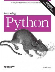 Learning Python 5th Edition 9781449355739 1449355730