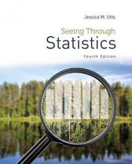 Seeing Through Statistics 4th Edition 9781285050881 1285050886