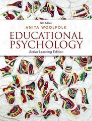 Educational Psychology: Active Learning Edition Plus NEW MyEducationLab with Video-Enhanced Pearson eText -- Access Card 12th Edition 9780133389128 013338912X
