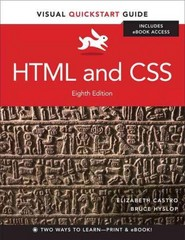 HTML and CSS 8th Edition 9780133438918 0133438910