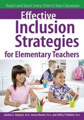Effective Inclusion Strategies for Elementary Teachers 1st Edition 9781618210807 1618210807