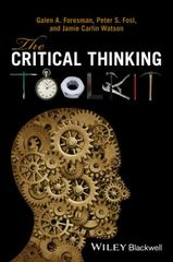 The Critical Thinking Toolkit 1st Edition 9781118982020 1118982029