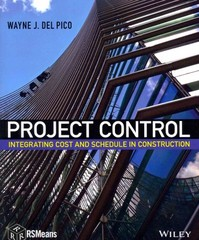 Project Control 1st Edition 9781118419137 1118419138
