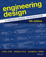Engineering Design 4th edition 9781118324585 1118324587