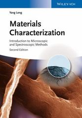 Materials Characterization 2nd Edition 9783527334636 3527334637