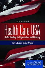 Health Care USA 8th Edition 9781449694524 1449694527