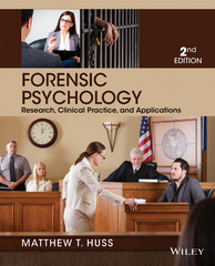 Forensic Psychology 2nd edition 9781118804117 1118804112