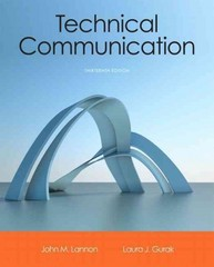 Technical Communication 13th Edition 9780321899972 0321899970