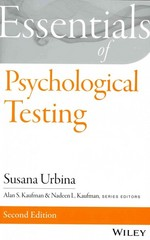 Essentials of Psychological Testing 2nd Edition 9781118707258 1118707257