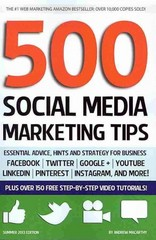 500 Social Media Marketing Tips 1st Edition 9781482014099 1482014092