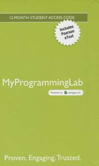 MyProgrammingLab with Pearson eText -- Access Code Card -- for Starting Out With Visual Basic 6th Edition 9780133452341 0133452344
