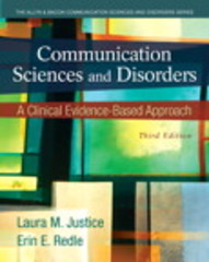 Communication Sciences and Disorders 3rd edition 9780133123715 0133123715
