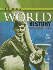 World History - The Modern Era 1st Edition 9780133231342 0133231348