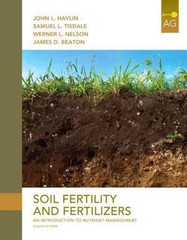 Soil Fertility and Fertilizers 8th Edition 9780135033739 013503373X