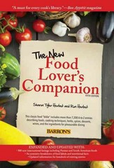 The New Food Lover's Companion 5th Edition 9781438001630 1438001630