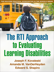 The RTI Approach to Evaluating Learning Disabilities 1st Edition 9781462511549 1462511546