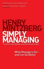 Simply Managing 1st Edition 9781609949235 1609949234