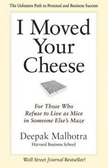 I Moved Your Cheese 1st Edition 9781609949761 1609949765