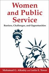 Women and Public Service 1st Edition 9780765631053 0765631059