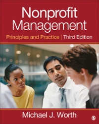 Nonprofit Management 3rd Edition 9781452243092 1452243093