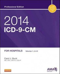 2014 ICD-9-CM for Hospitals, Volumes 1, 2 and 3 Professional Edition 1st Edition 9780323186742 0323186742