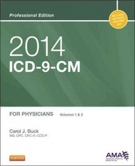2014 ICD-9-CM for Physicians, Volumes 1 and 2 Professional Edition 1st Edition 9780323186766 0323186769