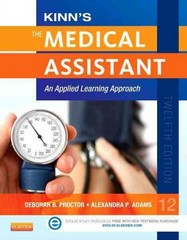 Kinn's The Medical Assistant 12th Edition 9781455726783 1455726788