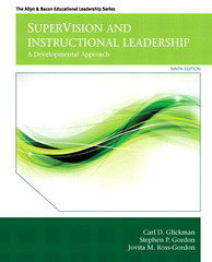 SuperVision and Instructional Leadership 9th Edition 9780133388503 0133388506