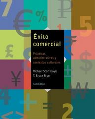 SAM for Doyle/Fryer's Éxito comercial, 6th 6th Edition 9781285737461 1285737466