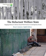 Brooks/Cole Empowerment Series: The Reluctant Welfare State 8th Edition 9781305177253 1305177258