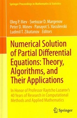 Numerical Solution of Partial Differential Equations: Theory, Algorithms, and Their Applications 1st edition 9781461471721 1461471729
