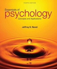 Essentials of Psychology 4th Edition 9781285751221 1285751221