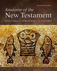 Anatomy of the New Testament 7th Edition 9780800699710 0800699718