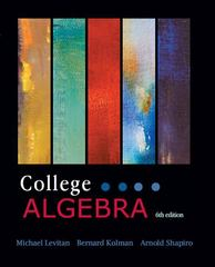 College Algebra (CL) 1st Edition 9781602298774 1602298777