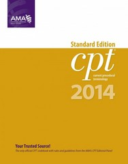 CPT 2014 Standard Edition 1st Edition 9781603598453 1603598456