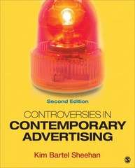 Controversies in Contemporary Advertising 2nd Edition 9781452261072 1452261075