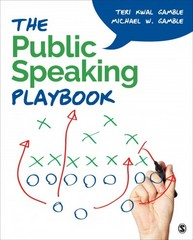 The Public Speaking Playbook 1st Edition 9781452299501 1452299501