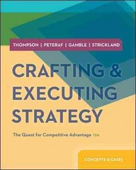 Crafting & Executing Strategy with BSG & GLO-BUS Access Card 19th edition 9780077713386 0077713389