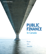 Public Finance in Canada 4th edition 9781259088933 1259088936